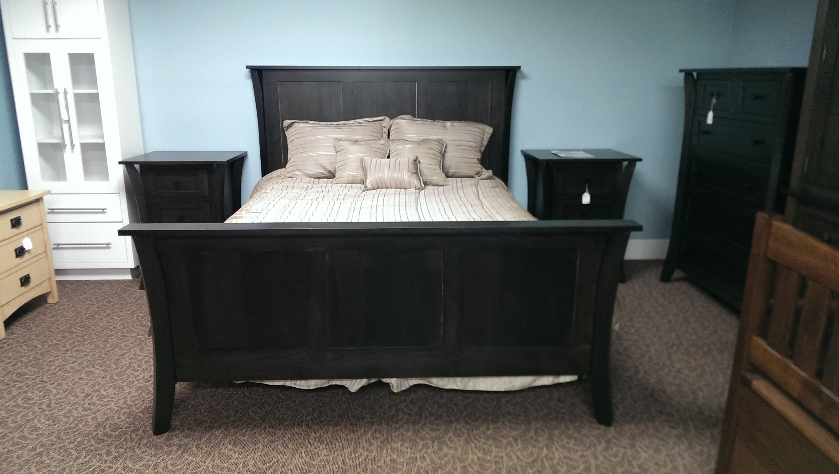 Bedroom mennonite custom furniture for Custom made bedroom furniture