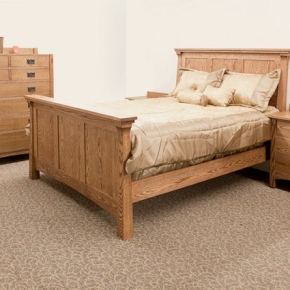 Pacino Bed (Red Oak)